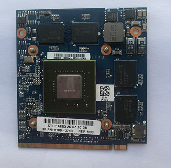 9600M GT G96-600-A1 Video Vga Graphic Card 1GB for laptop hp