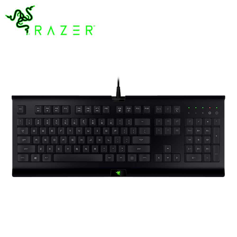 Razer Cynosa Wired Membrane Gaming Keyboard 104 Keys US Layout General Keyboard for Tablet/ Laptop/ Desktop Keyboard