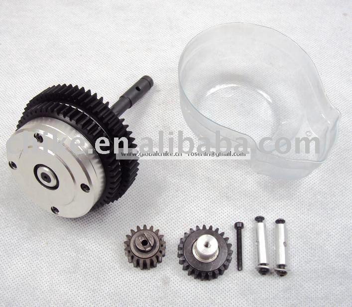 2 скоростной металлический комплект передач 1/5 hpi baja 5B(1:5 масштаб), 2 скорости передачи