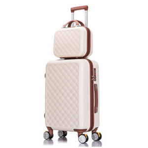 Boarding-Wheel Suitcase-Set Cosmetic-Case Spinner-Trolley-Case Rolling-Luggage-Set Travel-Bags