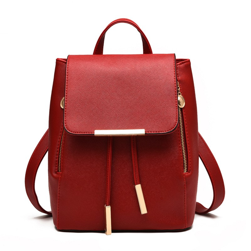 TINTON 2018 fashion women mini backpack college style school bags for female students strawing back pack Korean leather backpack