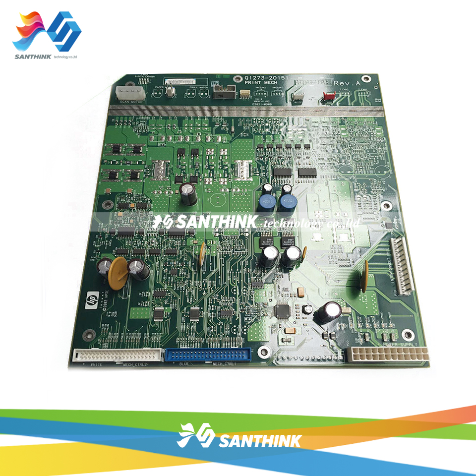 Designjet Main board For HP 4000 4500 HP4500 HP4000 Formatter board control panel formatter pca assy formatter board logic main board mainboard mother board for hp m775 m775dn m775f m775z m775z ce396 60001