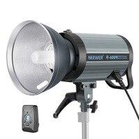 Neewer 400 Вт GN65 Студия флэш Strobe Light Monolight с 2,4 г Беспроводной триггер и моделирование лампа переработку в 0,01 0,5 сек (Q400N)