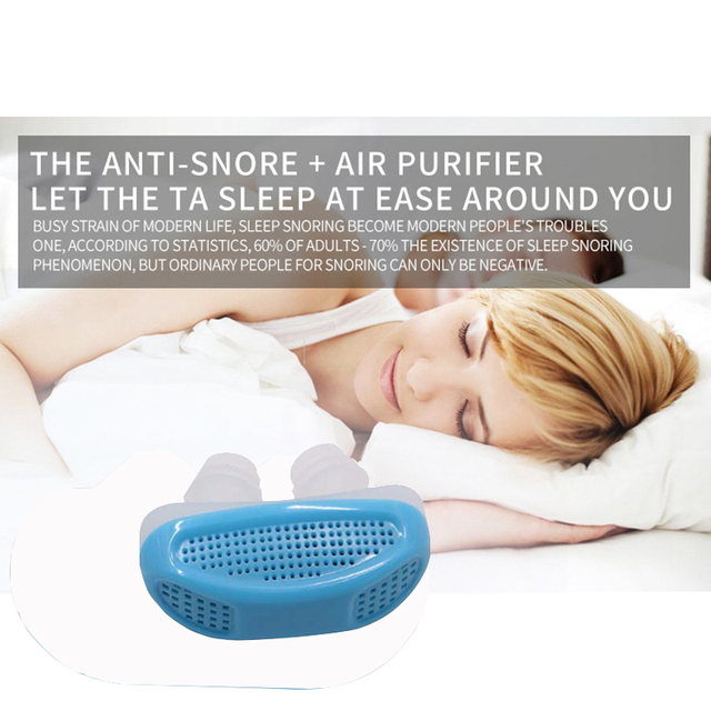 Anti-Snoring Apparatus for Sleeping Aid