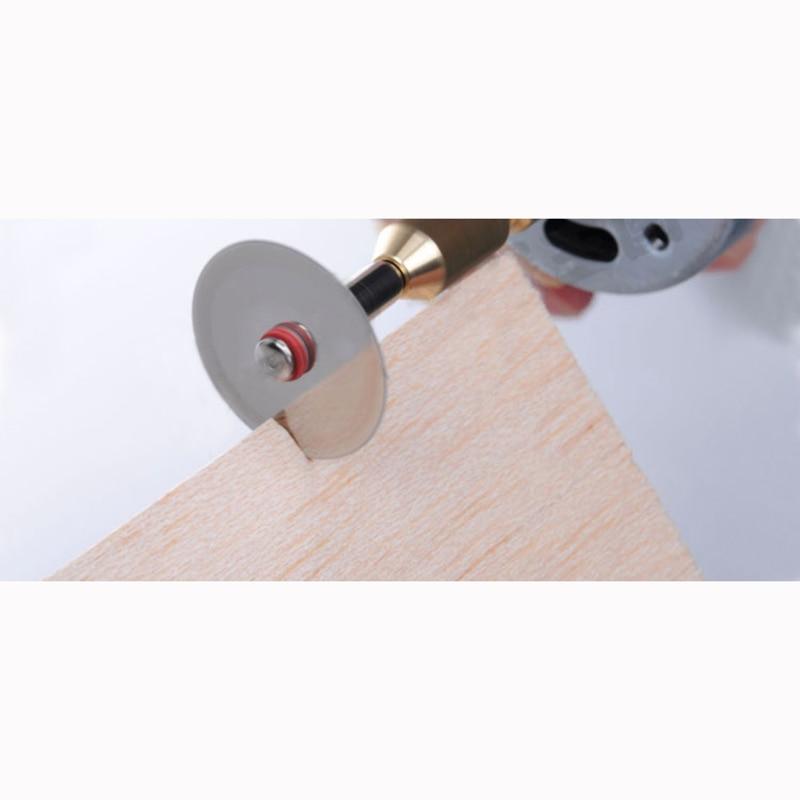 Купить с кэшбэком 24pcs metal  dremel rotary tool circular saw blade dremel cutting tools for woodworking tool cut off Free Shipping