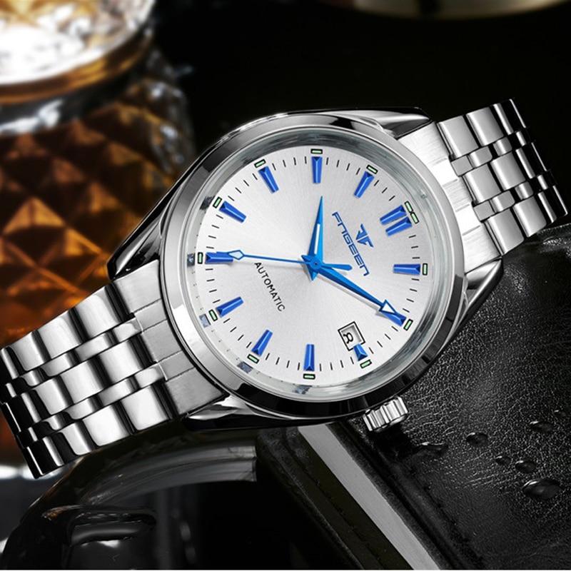 FNGEEN Luxury Men Watches Self-winding Tourbillon Polshorloge Date - Herenhorloges - Foto 3