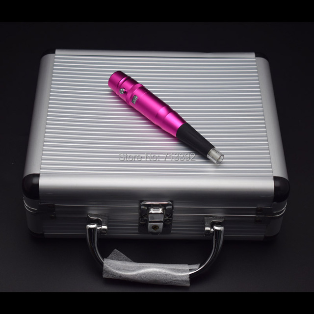 Latest Aluminum Case Makeup Kits Professional Permanent Makeup Eyebrow Lips Machine Kits