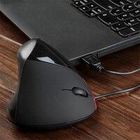 Usb recarregável com fio rato de computador 2.4 ghz vertical gaming mouse 1200 dpi ergonômico computador ratos para computador portátil escritório trabalho