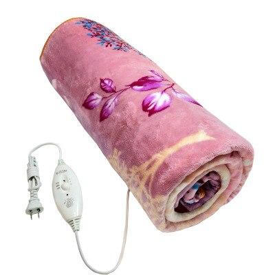 150*120 cm Flanell Weiche Plüsch Elektrische Decke Heizung Winter Matte Bett Heizung Thermostat Pad Teppich