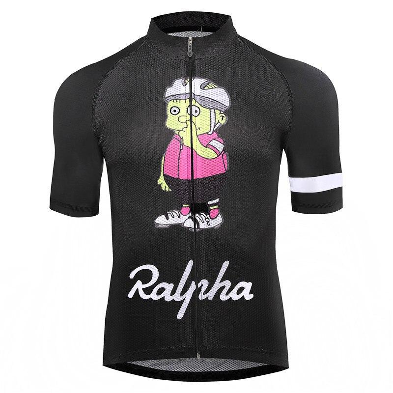 Simpsons Ralpha vélo Jersey bike Jersey route piste VTT course cut aero vélo jersey homme hommes italien vêtements à séchage rapide court
