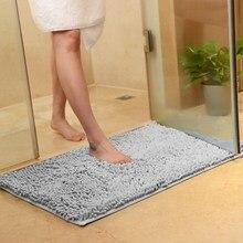 9 Sizes Bath Mat Non-slip Bathroom Carpet Mat For Toilet Bathroom Rug Toilet Mat Tub Rug Anti-slipping Absorbent Soft Chenille цена 2017