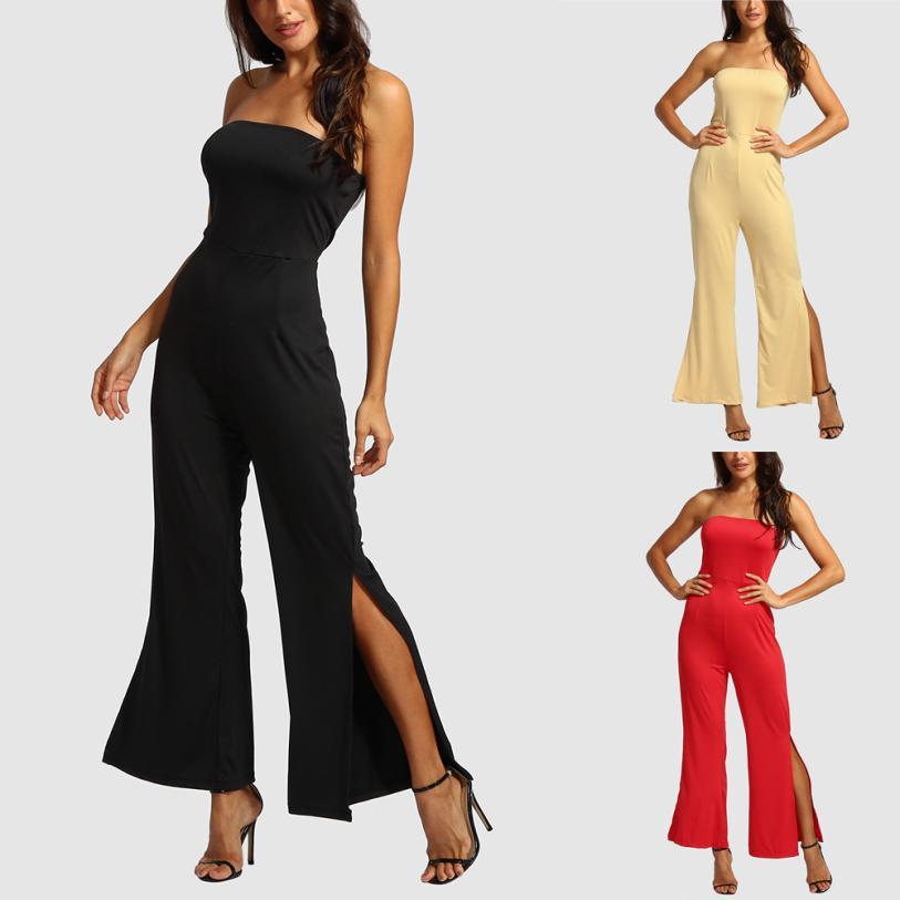 2018 rompers womens jumpsuit Off The Shoulder Backless Playsuit Party Clubwear jumpsuit summer romper bodysuit x362