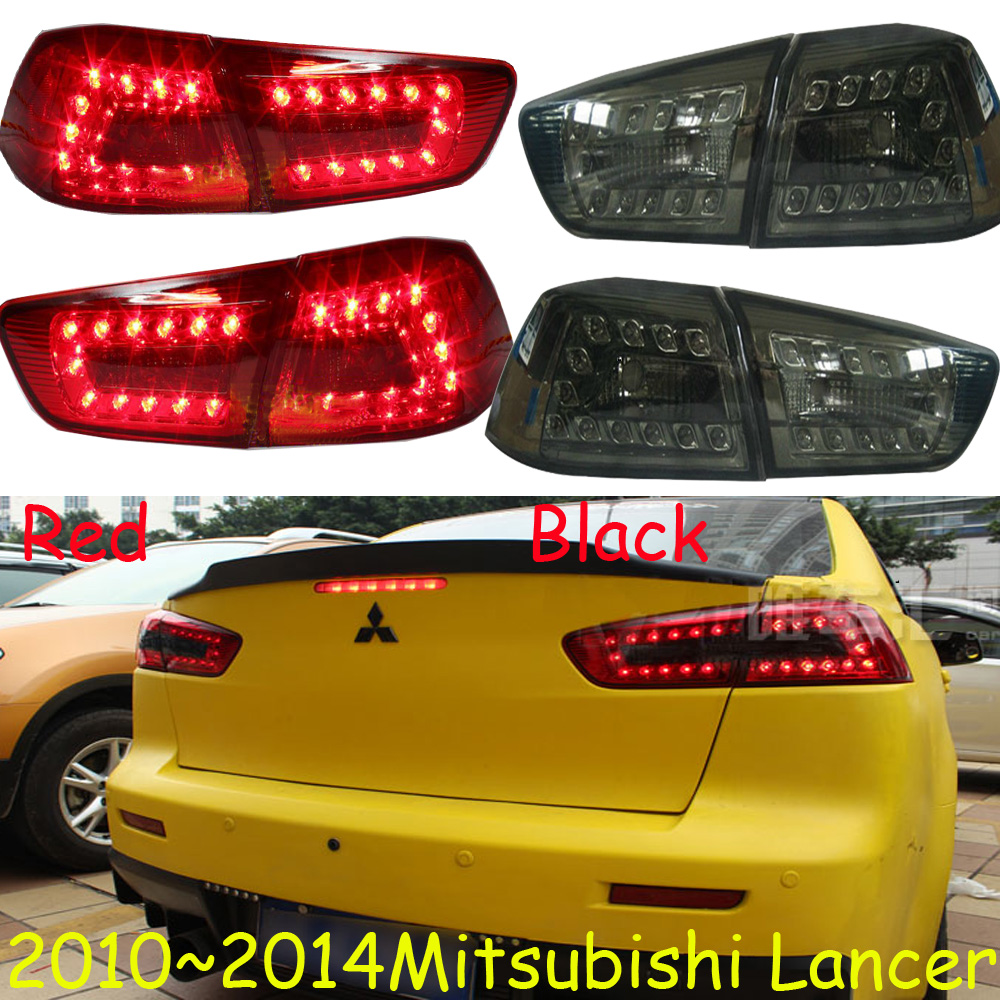 ФОТО Lancer EX taillight,sedan car,2008~2015,Free ship!4pcs/set,Lancer EX rear light,Pajero,ASX,Outlander