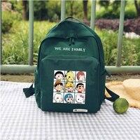 harajuku sailor moon bag Funny one piece pikachu printing Backpack mochila women Large Capacity Travel Teenager School Bags