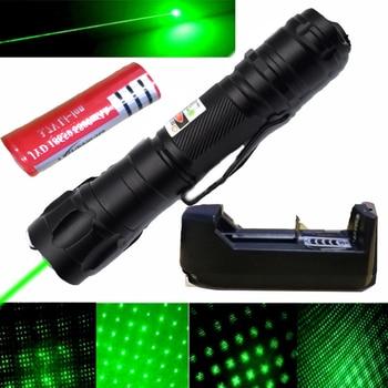 Laser Pen 532nm 5mw Green Laser 303 verde Pen Lazer Pointer Burning Presenter Remote Lazer Hunting Laser Bore Sighter