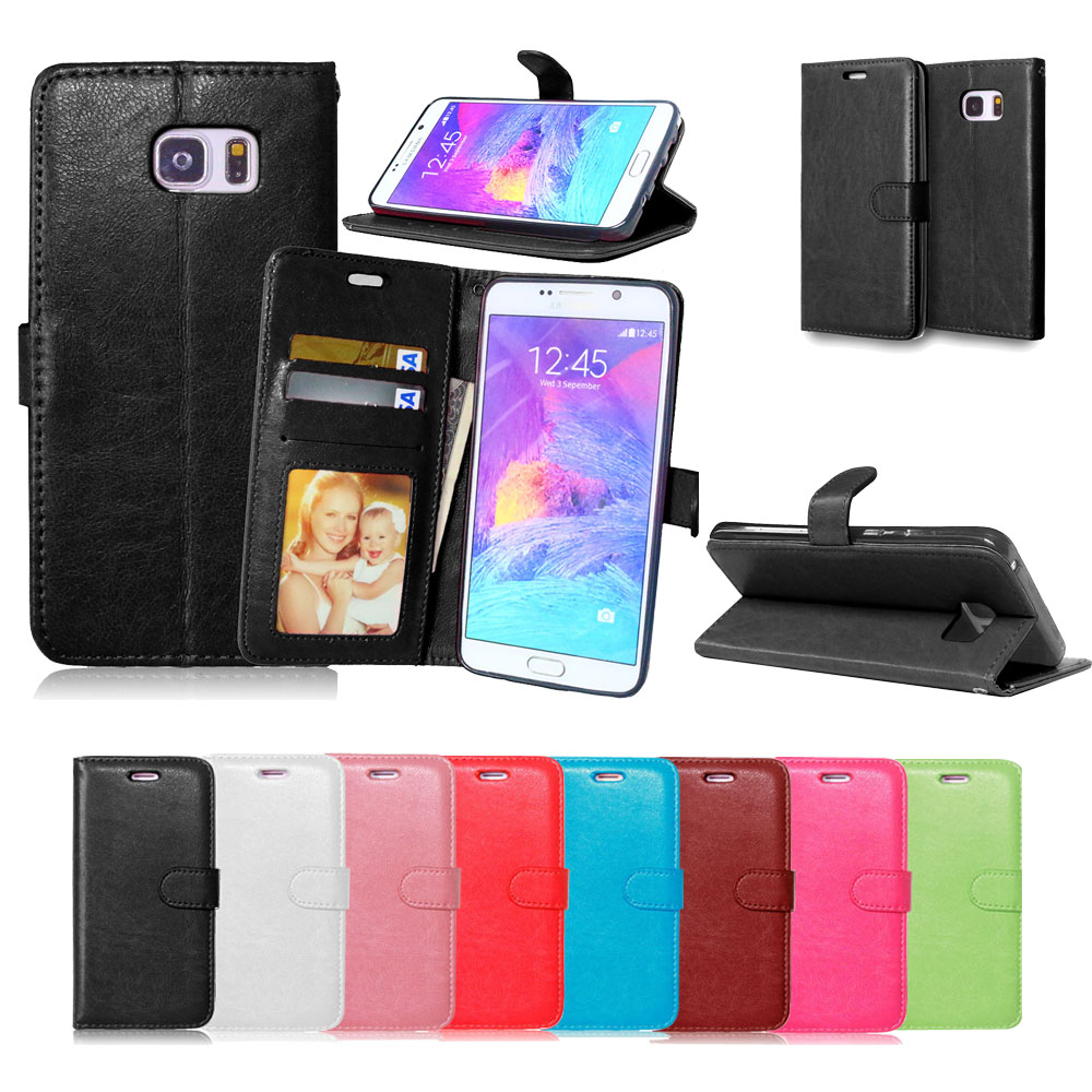 Note 5 Card Holder Wallet Cover Leather Case for Samsung Galaxy Note 5 N9200 Coque Flip Stand Phone Bags For Samsung Note 5 Case