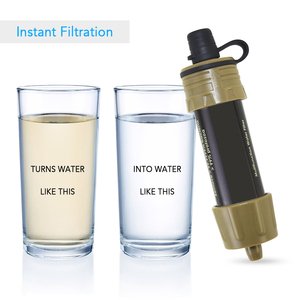 Image 5 - Outdoor Water Filter Straw Water Purifier System with 5000 Liters Filtration Capacity for Camping Emergency Survival Tool