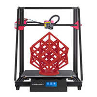 Touch-Screen CR-10 Max larger printing size 3d printer 450*450*470 n Golden triangle Auto leveling Resume Print Creality 3D
