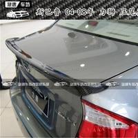 FOR Subaru Legacy spoiler 2004 2005 2006 2007 2008 Carbon Fiber Rear Roof Spoiler Wing Trunk Lip Boot Cover Car Styling