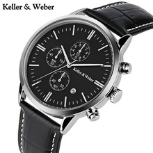 Keller & Weber Men's Wrist Watches Genui