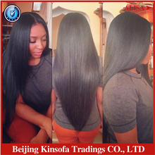 2017 Hot Sale Limited Pelucas Glueless Brazilian Virgin Human Hair Glueless Full Lace Wig& Front Wig Straight For Black Women