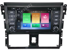 Android 6.0 CAR Audio DVD player FOR TOYOTA YARIS 2014 gps Multimedia head device unit receiver BT WIFI