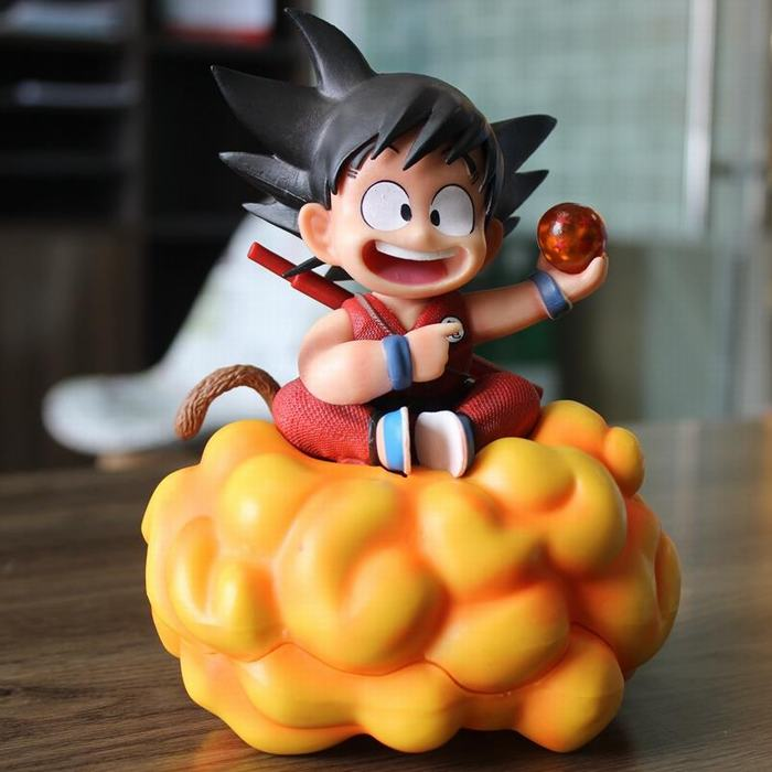 Dragon Ball Z kid goku Open Cirrus PVC Figures toy Collectible Model Toys gift Figuras with box image