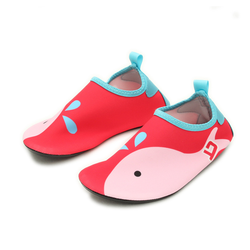 Baby Home Slippers Children Beach Shoes Non-slip Breathable Boys Girls Swimming Shoes Indoor Soft Socks For Foot Length 11-16 Cm