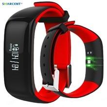 P1 SmartBand трекер фитнес Браслет Смарт часы крови Давление монитор Смарт Браслет Шагомер wristbandfor IOS Andriod
