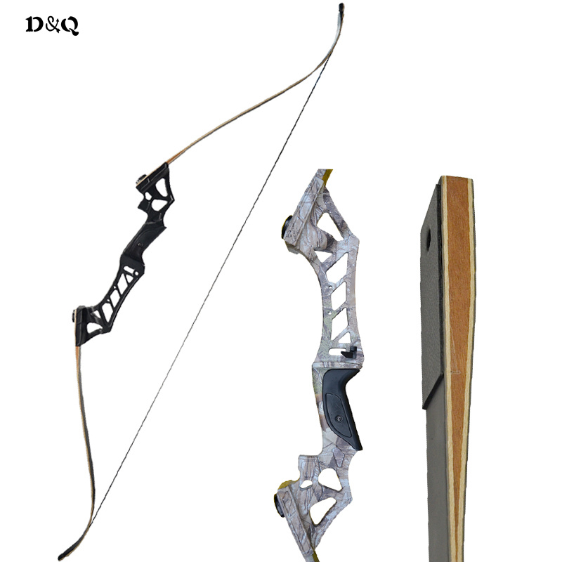 Takedown Bow 30-60lbs Outdoor Shooting Training Practice Adult Recurve Bow Archery Hunting Longbow With Bow Stringer Right Hand car styling carbon fiber auto rear wing spoiler lip for vw scirocco 2010 2012