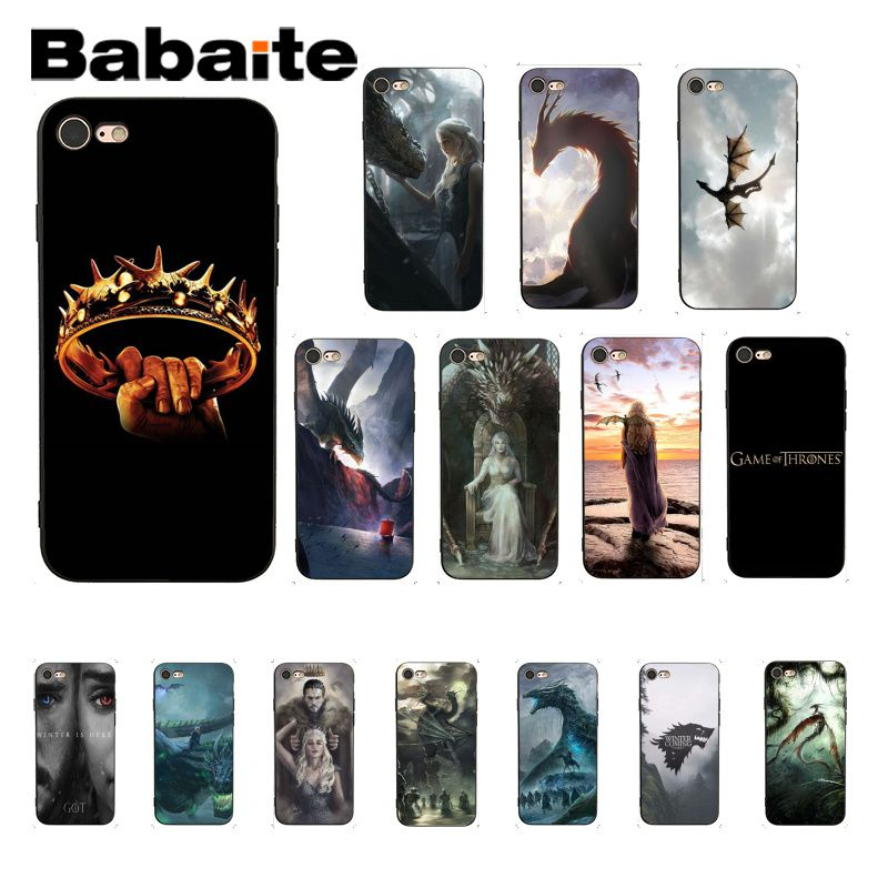 Methodical Babaite Game Of Throne Winter Is Coming Novelty Fundas Phone Case Cover For Iphone 8 7 6 6s Plus 5 5s Se Xr X Xs Max Coque Shell Agreeable To Taste Cellphones & Telecommunications