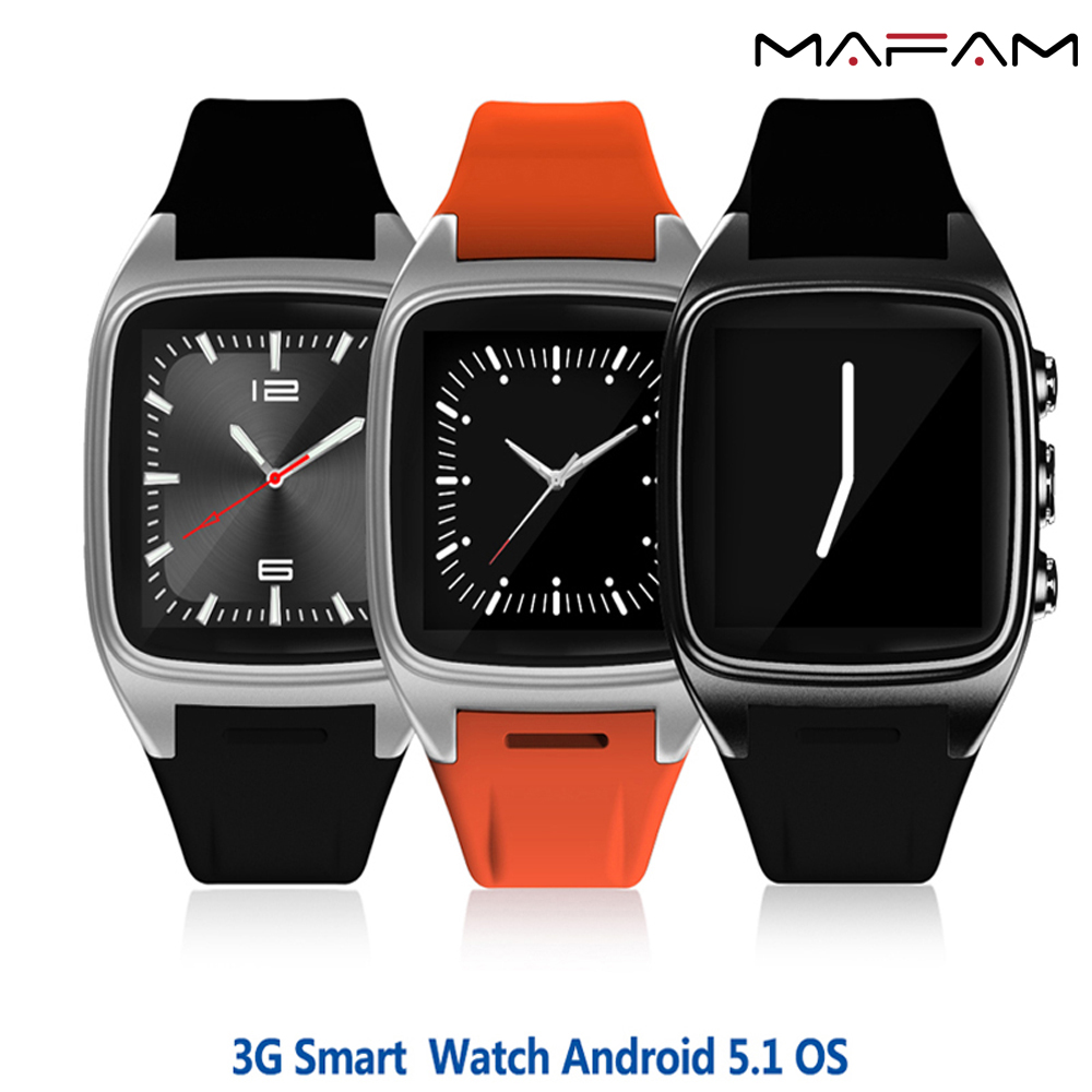1.54'' 3G Android 5.1 Smart Watch Waterproof GPS Pedometer with 2.0 Mega Camera Google Play App Install WIFI Bluetooth 4.0 X01 adult smart watch phone for men 3g android watch with gps google play bluetooth men watch camera pk gt08 smart watch