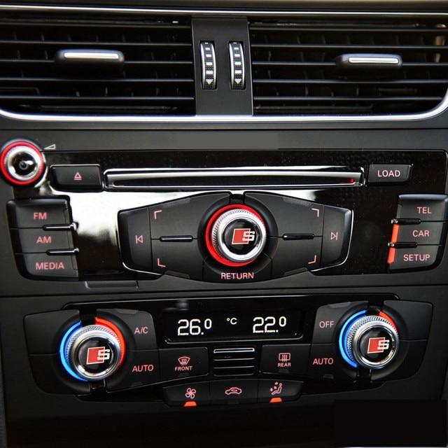 For Audi A1 A4 A5 A6 Q3 Q5 car accessories sticker car audio ...