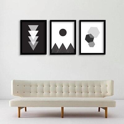3pcs Abstract Photos Creative decorative painting Modern ...
