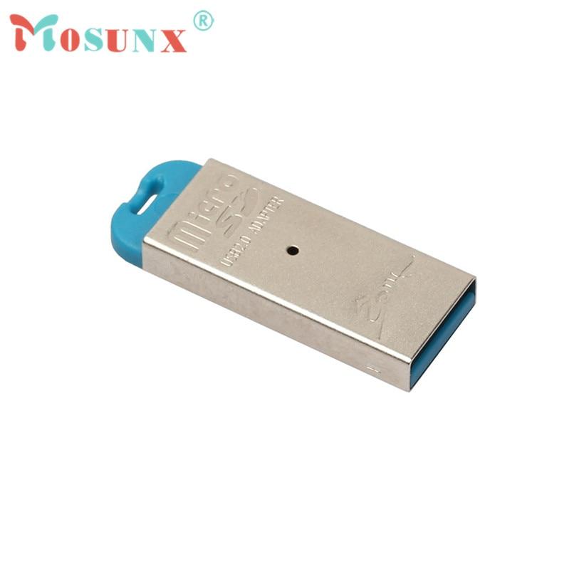 Mosunx Advanced 2018 Memory Card Reader Adapter High Speed Mini USB 2.0 Micro SD TF T-Flash Memory Card Reader Adapter 1PC ecosin2 card reader high speed mini usb 2 0 micro sd tf t flash memory card reader adapter april11