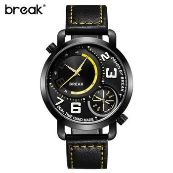 Sport Style Dual Time Zone Quartz Wristwatches 5