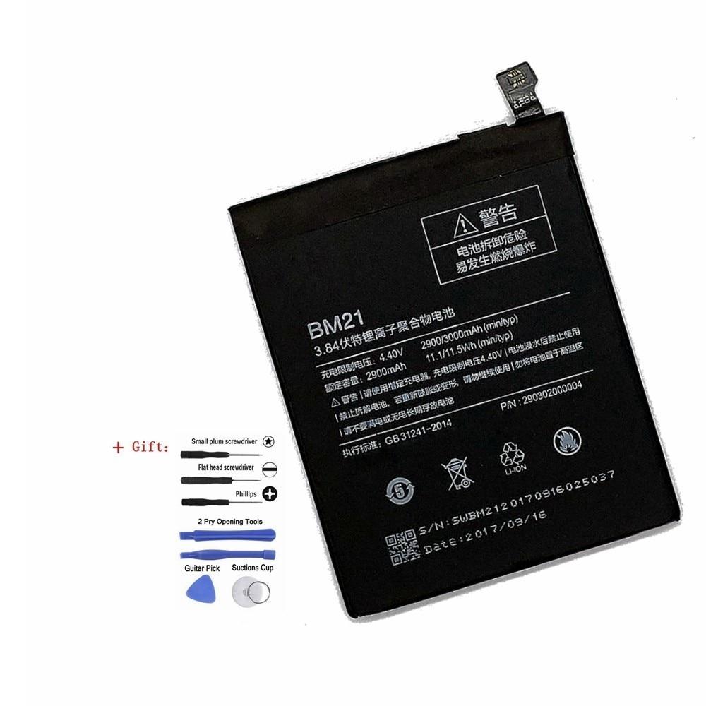 Free tools+High Quality phone Built-in battery 3000mah Li-ion For Xiaomi Mi Note BM21 3GB RAM Mobile Phone Batteries