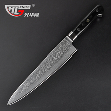 10.5 Inch damascus big knives new Kitchen Knife very sharp meat cutting Cleaver kitchen tools nakiri Micarta handle