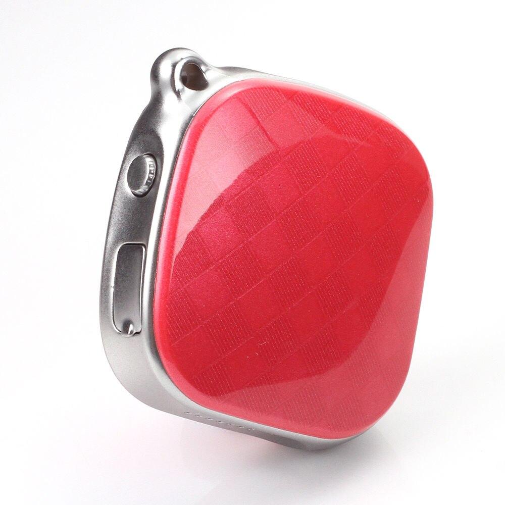 HBUDS Voiture Smart Activité Tracker Smart Mini Mode Enfant Enfants Bébé Aîné Finder Véhicule Localisateur De Voiture GPS Tracker GSM (rouge)