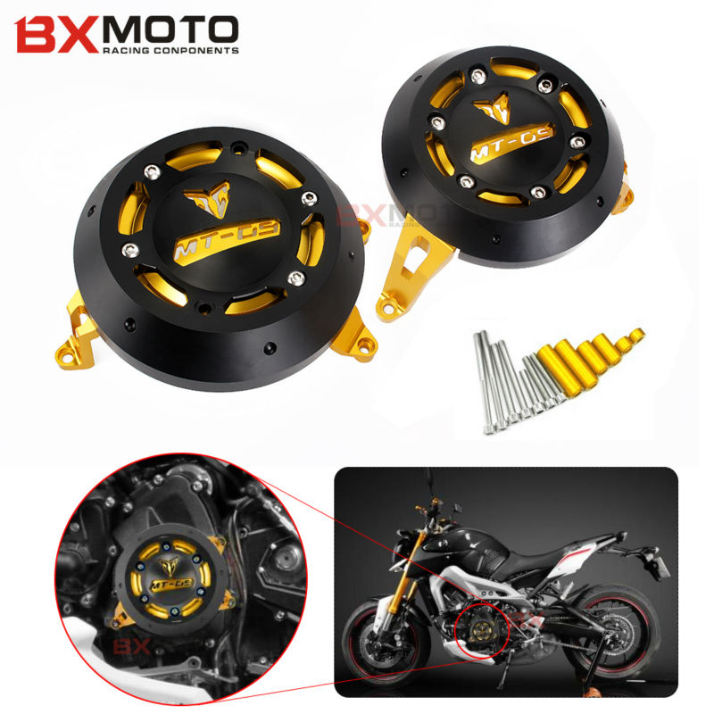 New Motorcycle MT 09 Engine Stator Cover CNC Aluminum Motorbike Engine Protective Cover Protector For YAMAHA MT-09 MT09 5 COLOR цена 2017