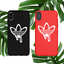 Street Sports Soft Case For Iphone 11 Pro X Xs Max Xr 10 8 7 6 6s Plus Phone Cover Matte Silicone Brand Logo Couple Coque Capa цена
