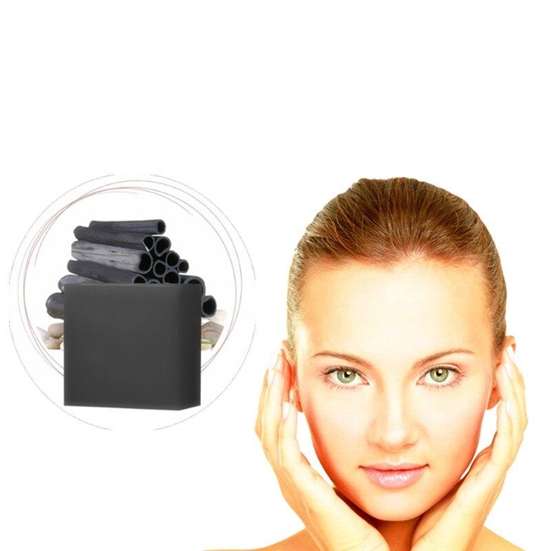 Blackhead Remover Bamboo Charcoal Herbal Medicine Handmade Soap Anti-Aging Moisturizing Acne Treatment Oil Control Clean Pores