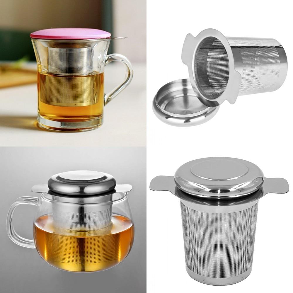 New Stainless Steel Filter Mesh Tea Infuser Metal Cup Strainer Tea Leaf Filter Sieve Teapot Tea Leaf Filter Mesh #25