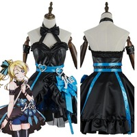 Love Live Eli Ayase Cosplay Costume Lovelive Initial D School Idol Stage Eli Ayase Dress Cosplay Costume