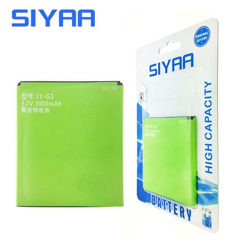 Original SIYAA JY-G3 Battery For JIAYU G3 JYG3 G3S G3C G3T High Capacity 3000mAh Beat Quality Replacement Li-ion Batteries