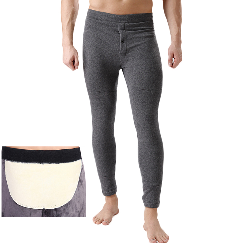 2016 Winter Plus Cashm Men Thermal Tight Underwear Men's ...