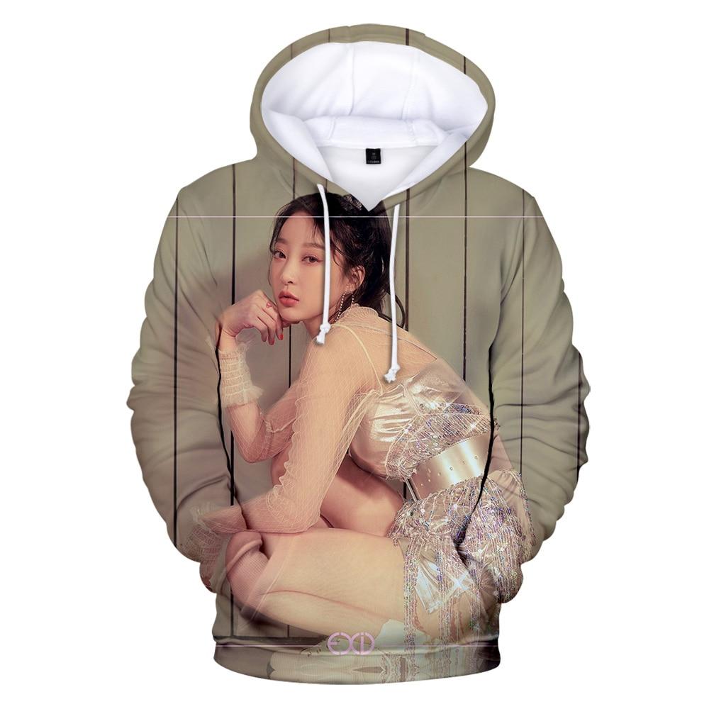 New Fashion EXID 3D Hoodies Men Women 2019 Fall/Winter Harajuku Boy/Girl Warm EXID Man 3D Hoodies Sweatshirt