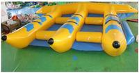 Inflatable Fly Fish Boat for 6 Persons Slide Sled Banana Boat Water Game fast shipping