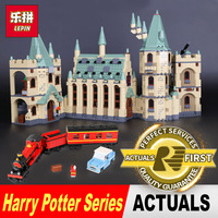 LEPIN 16030 1240Pcs Creative Movies Series The Hogwarts Castle Set Model Building Block Children Toy Gift