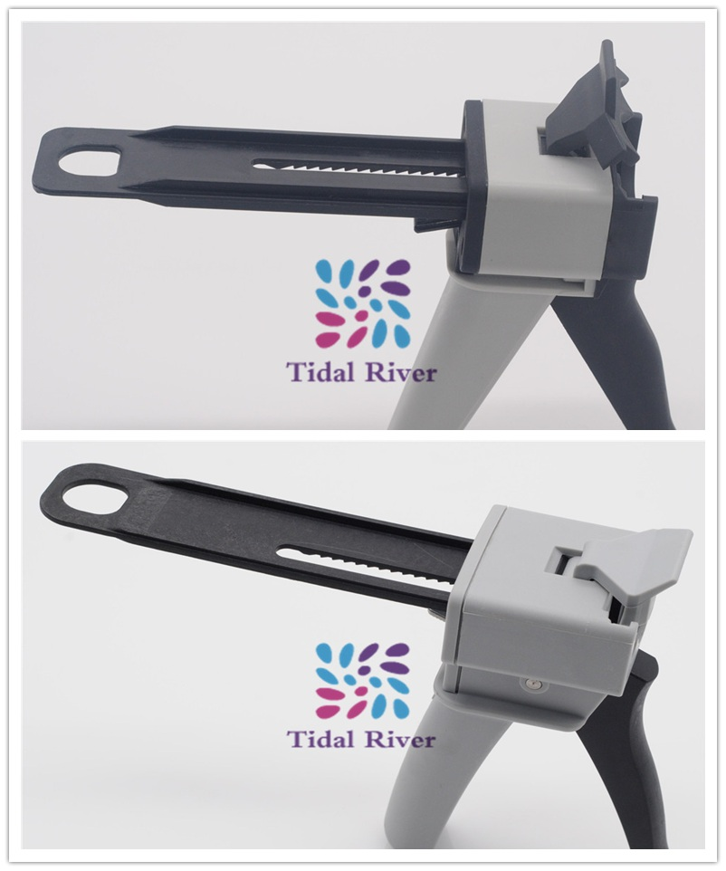 2 шт.(1:1 и 4:1) соотношение стоматолога впечатление материал смешивания дозатор пистолет для стоматологической лаборатории